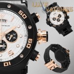 Hysek Abyss Discoverer Chronograph White