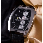 Ferrari Chronograph 1791 Steel Black