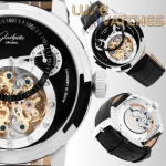 Glashutte Senator Skeleton Black