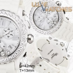 Chopard Happy Sport Round Chronograph White