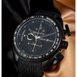 PORSCHE DESIGN Flat Six Chronograph Black