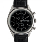 Patek Philippe Men Calatrava Black Steel