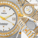 Omega Constellation Co-Axial 35mm SS-RG